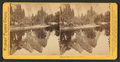 Mirror View, Three Brothers. Yosemite Valley, Mariposa County, Cal, by Watkins, Carleton E., 1829-1916.png