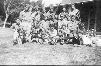 Mishmar HaEmek - Members of the Yiftach Brigade, 1948