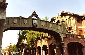 The Mission Inn Hotel & Spa - Skybridge between buildings