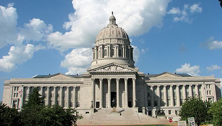 The Missouri State Capitol in Jefferson City MissouriCapitol.jpg