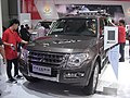 Mitsubishi Pajero CN Spec V6 3.0L In the 12th Guangzhou Autoshow 01.jpg