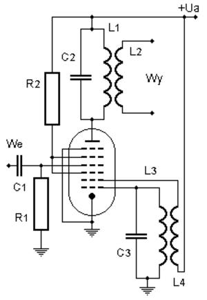Pentagrid converter - Octode-based pentagrid converter circuit