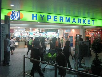 Hypermarket - Asian hypermarket in the Philippines, a branch of SM Hypermarket in SM Mall of Asia in Pasay, Metro Manila was an example.
