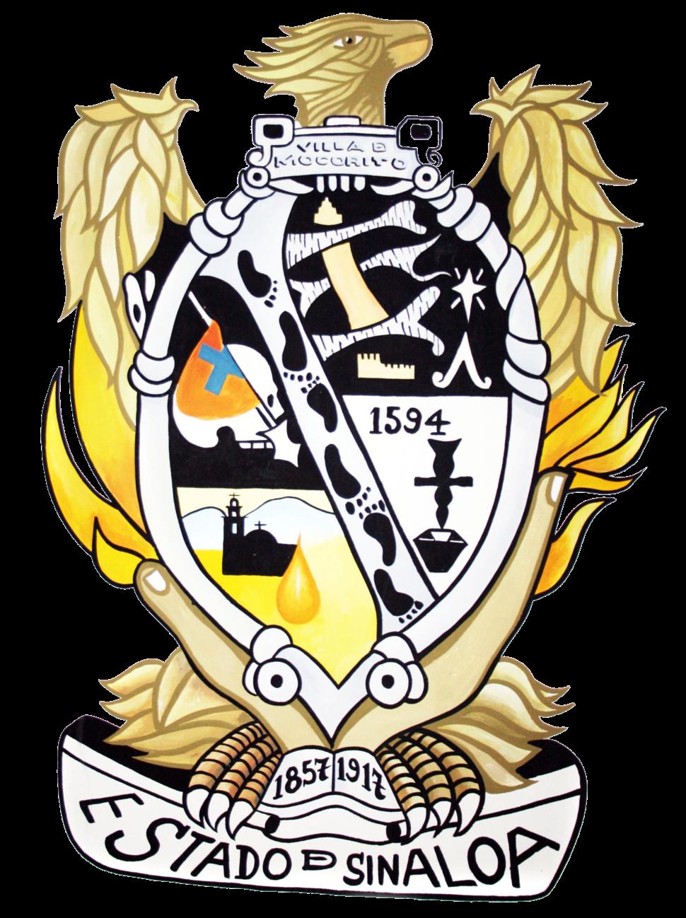 Official seal of Mocorito, Sinaloa, Mexico