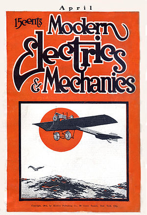 Electrician and Mechanic - Image: Modern Electrics and Mechanics Apr 1914