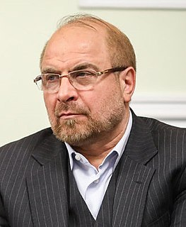 Mohammad Bagher Ghalibaf Iranian conservative politician, professor, and former air force pilot