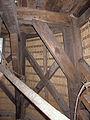 Molen Laurentia houten achtkant constructie.jpg