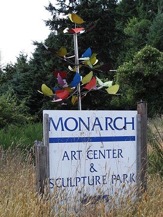 Monarch Contemporary Art Center and Sculpture Park - Park entrance