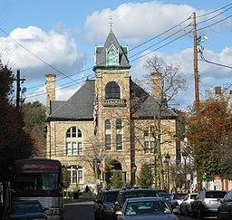 Monroe Countys domstolhus i Stroudsburg.