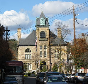 Monroe County, Pennsylvania - Image: Monroe County Courthouse Nov 09
