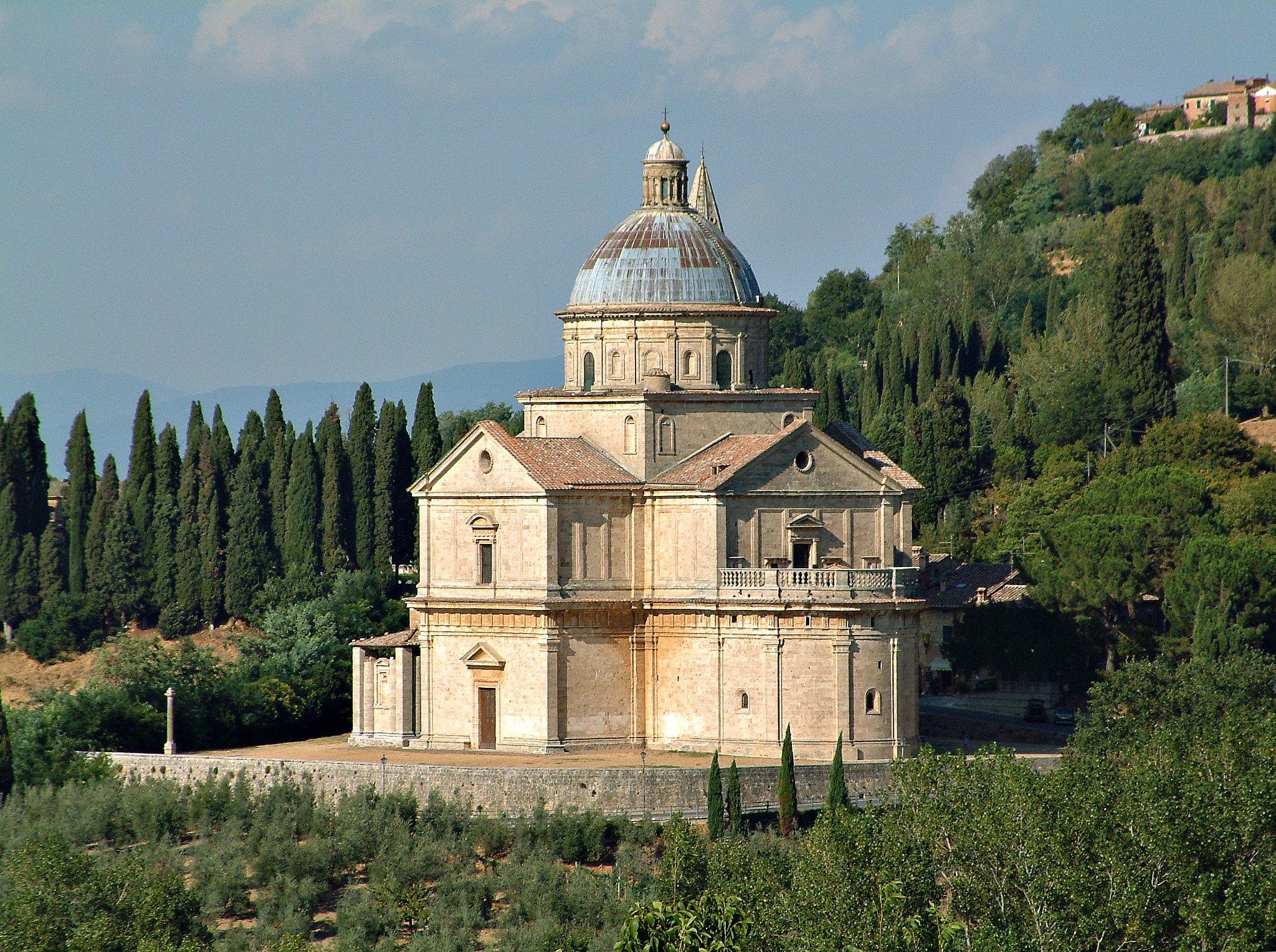 Montepulciano - Madonna di San Biagio