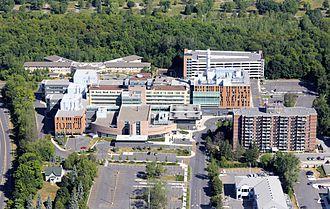 Montfort Hospital - Hôpital Montfort campus as of 2012 (including expansions)