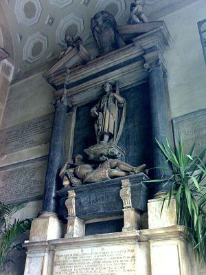 San Giacomo degli Spagnoli, Naples - Monument to Ferdinando Maiorca.