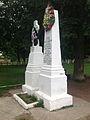 Monumentul frăţiei de arme româno-franceze (1916 - 1919) - vedere laterală.JPG