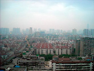 Morning view of Wuhan City.JPG