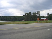 Morrisville, North Carolina (north side of Morrisville-Carpenter Road)