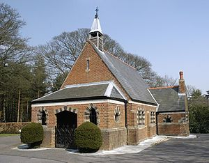 Aldershot Military Cemetery - The Mortuary Chapel of Aldershot Military Cemetery