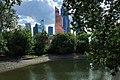 Moscow, Nizhny Krasnogvardeysky Pond (30674575414).jpg