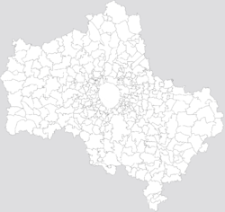 Pusjtsjino is located in Moskva oblast