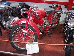 Moto Guzzi - Moto Guzzi Airone Sport 1949.