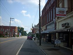 Downtown, Mount Gilead