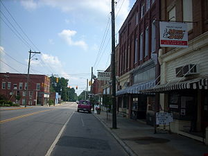 Mount Gilead, North Carolina - Downtown, Mount Gilead