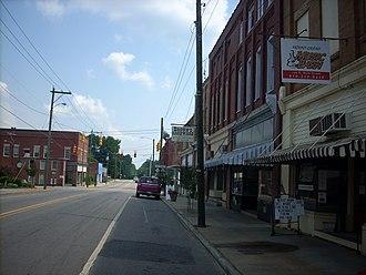 Mount Gilead, North Carolina - Downtown, Mount Gilead