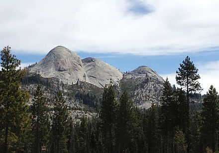 Mount Starr King in Yosemite Mount Starr King west profile.JPG