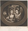 Mrs. Gwynne and Mrs. Bunbury in the Merry Wives of Windsor (Shakespeare) MET DP858681.jpg