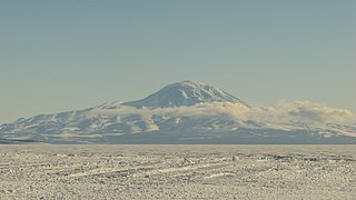 Mount Discovery Volcano in Victoria Land, Antarctica