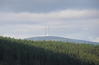 Mullaghanish - Transmitter masts at Mullaghanish