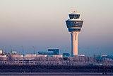 Munich Airport Tower MUC 2015 01 dawn.jpg