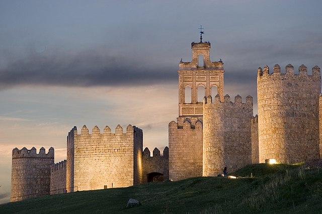 Ávila ciudad Patrimonio Mundial, Castilla y León, España