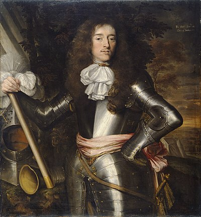 Inchiquin, commander in Munster, who defected to Parliament in 1644, then returned to the Royalists in 1648; an example of the complex mix of loyalties and motives Murrough O'Brien, 1st Earl of Inchiquin by Wright, John Michael.jpg