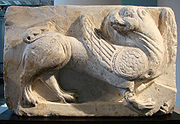 Griffin bas-relief, from Picardy, ca 1260 (Musée de Picardie, Amiens)