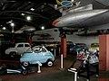Museu Eduardo André Matarazzo - Bebedouro - Em destaque o Kart pilotado pelos Fittipaldi e a Romi-Isetta, primeiro veículo produzido no Brasil. No pedestal o avião T-33A Shooting Star, matrícula FAB432 - panoramio.jpg