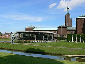 Museum Boijmans Van Beuningen - The south side of the museum in 2007
