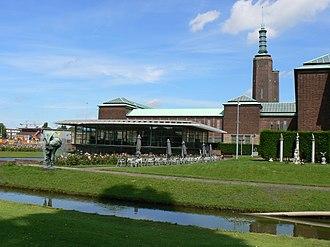 Museum Boijmans Van Beuningen - The south side of the museum in 2007