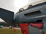 "Nörvenich Air Base Eurofighter Typhoon Luftwaffe 31+31 ""Spirit of Oswald Boelcke"" (30549966088).jpg"
