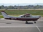 N67JK Cessna 210 (27202817071).jpg