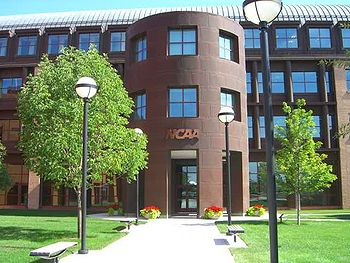 Current NCAA headquarters office in Indianapolis, Indiana.