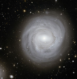 Anemic galaxy - NGC 4921, a typical anemic galaxy.