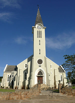 Albertinia, Western Cape - Dutch Reformed Church in Albertinia