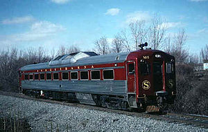 New York, Susquehanna and Western Railway - Budd RDC M-5, used on Syracuse passenger operation OnTrack