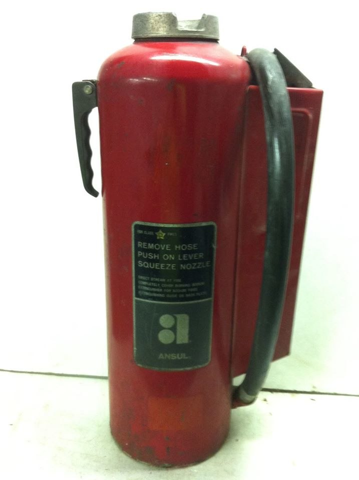 Na-X Fire Extinguisher