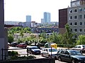 Na Topolce, od ulice Mikuláše z Husi k pankráckým mrakodrapům.jpg