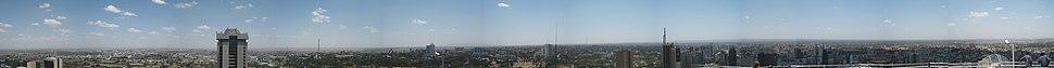 360-degree Nairobi panorama