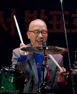 Namgung Yeon (South Korean drummer) from acrofan.jpg
