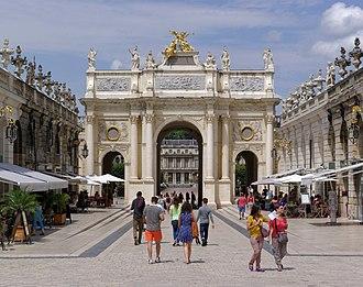 Lorraine - Nancy - Place Stanislas - Arc de triomphe