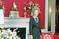 Nancy Reagan in The Red Room During a Photo Session with Harper's Bazaar C10929-18.jpg